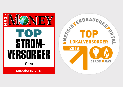 EGG Top Stromanbieter und Lokalversorger